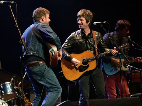 WATCH: Old Britpop rivals Noel Gallagher and Damon Albarn got together to play Gorillaz songs