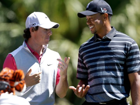 Rory McIlroy 'not bothered' about beating Tiger Woods to No.1 spot