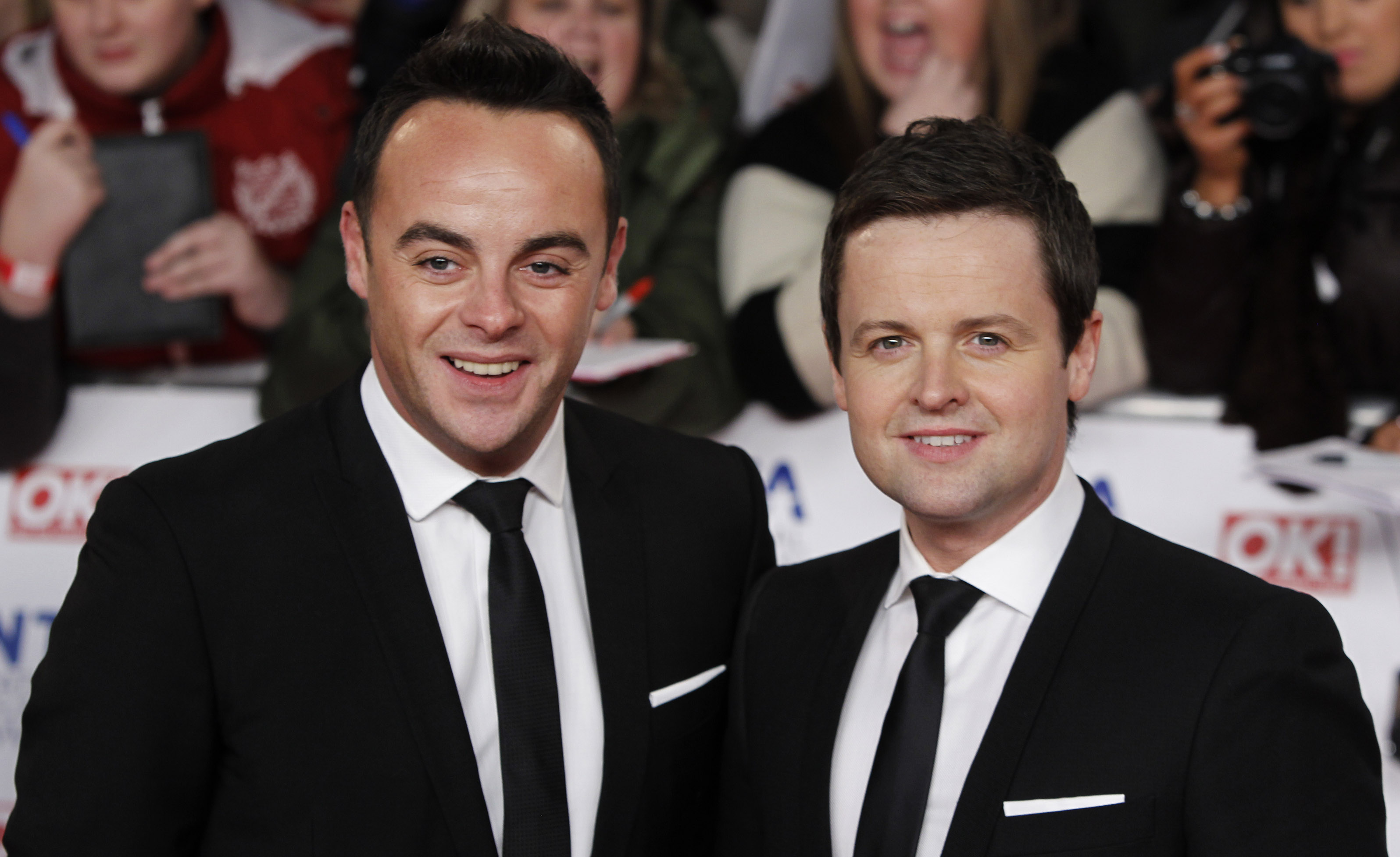 Ant and Dec are heading for a number one hit (Picture: PA)
