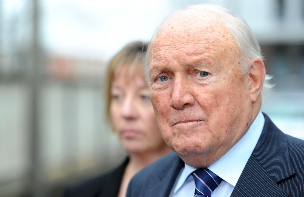 BBC broadcaster Stuart Hall appears in court over alleged sex offences