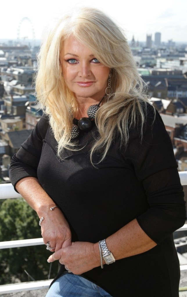 File photo dated 11/09/09 of veteran singer Bonnie Tyler who will represent the United Kingdom at this year's Eurovision competition. PRESS ASSOCIATION Photo. Issue date: Thursday March 7, 2013. The singer, whose hits include Total Eclipse of the Heart, will perform a track called Believe In Me at the event in Malmo, Sweden. See PA story SHOWBIZ Eurovision. Photo credit should read: Dominic Lipinski/PA Wire