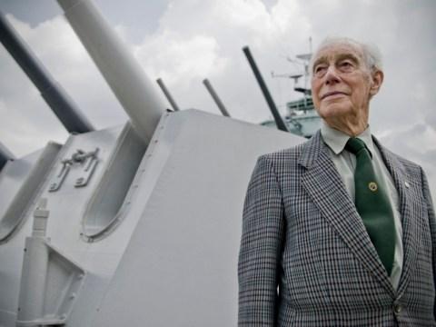 I built the HMS Belfast, says last engineer