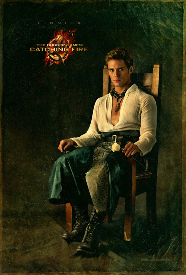 Latest Catching Fire posters feature Peeta, Gale and Finnick showing their stylish side