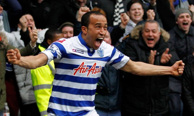 Queens Park Rangers English midfielder Andros Townsend celebrates scoring his team's second goal during the English Premier League football match between Queens Park Rangers and Sunderland at the Loftus Road Stadium in London on March 9, 2013. AFP PHOTO/IAN KINGTON RESTRICTED TO EDITORIAL USE. No use with unauthorized audio, video, data, fixture lists, club/league logos or ìliveî services. Online in-match use limited to 45 images, no video emulation. No use in betting, games or single club/league/player publicationsIAN KINGTON/AFP/Getty Images