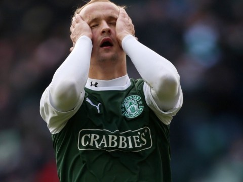 Linesman has a shocker as Hibs' Leigh Griffiths is denied clear goal