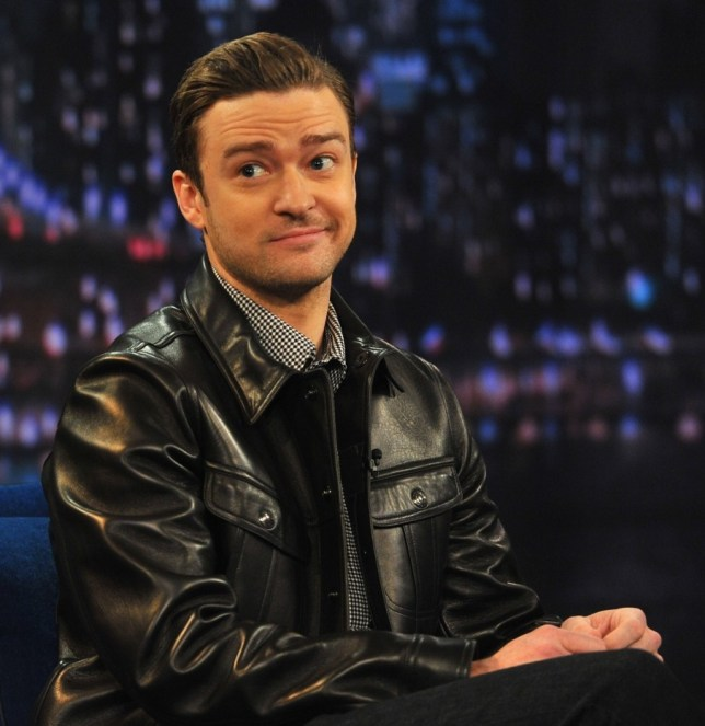 """NEW YORK, NY - MARCH 11:  Justin Timberlake visits """"Late Night With Jimmy Fallon"""" at Rockefeller Center on March 11, 2013 in New York City.  (Photo by Theo Wargo/Getty Images)"""