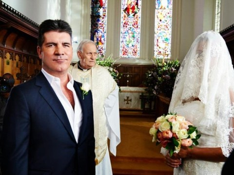 X Factor and BGT stars gather for Simon Cowell's marriage to himself