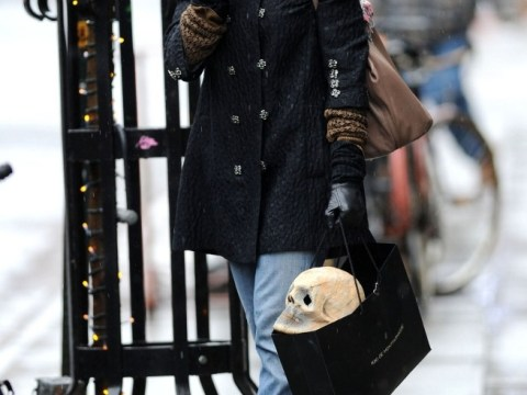 Ryan Gosling in for a treat after girlfriend Eva Mendes leaves kinky sex shop with life-sized skull