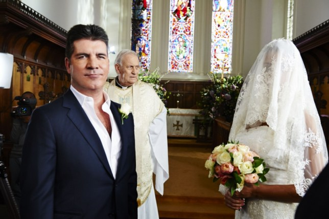 Simon Cowell's wedding video is one of the highlights of this year's Comic Relief (Picture: BBC)