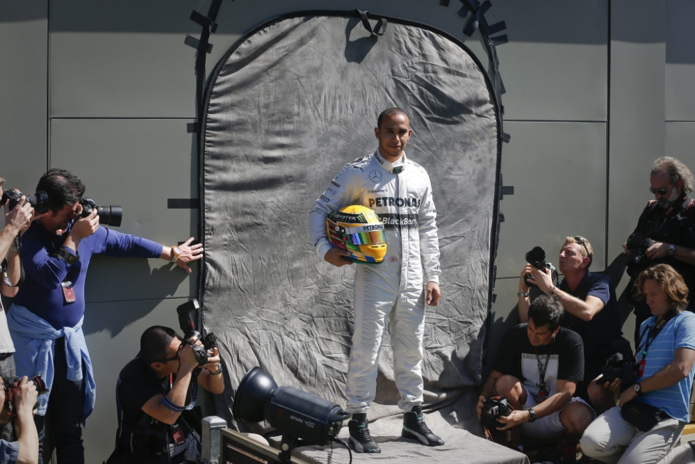 Gallery: Meet the drivers – Lewis Hamilton and Jenson Button line up with their F1 rivals ahead of Australian Grand Prix