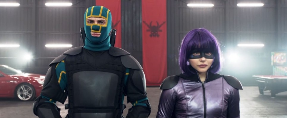"Aaron Taylor-Johnson and Chloe Grace Moretz return their roles as David ""Dave"" Lizewski / Kick-Assnand Chloë Grace Moretz as Mindy Macready/ Hit-Girl in 'Kick Ass 2.'nThis time, they will battle mobster's son Chris D'Amico - alias actor 'Superbad' actor Christopher Mintz-Plasse - who is a supervillain known as 'The Mother Fucker.'nFUNNYMAN Jim Carrey stars as former mob enforcer Sal Bertolinni in 'Kick Ass 2.'nBertolinni turns his back on his criminal ways and become psychopathic vigilante 'Colonel Stars and Stripes' in the movie.n"