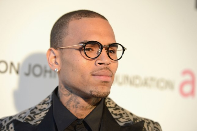 WEST HOLLYWOOD, CA - FEBRUARY 24:  Singer Chris Brown attends the 21st Annual Elton John AIDS Foundation Academy Awards Viewing Party at West Hollywood Park on February 24, 2013 in West Hollywood, California.  (Photo by Jason Kempin/Getty Images for EJAF)