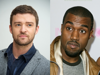 Justin Timberlake v Kanye West: Celebrity Face Off