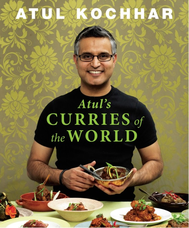 Chef Atul Kochhar has travelled all over the world to compile his book of curry recipes (Picture: Mike Cooper)