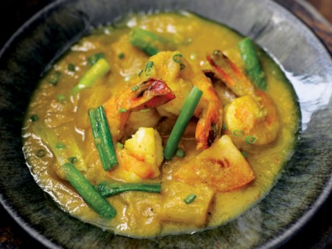 How to cook Atul Kochhar's Malaysian prawn and pineapple curry