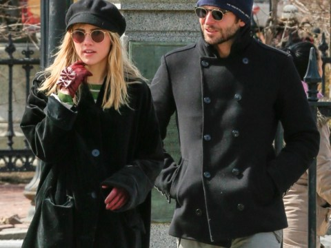 What time do you call this? Bradley Cooper and new girlfriend Suki Waterhouse rock up very late to watch the Rolling Stones