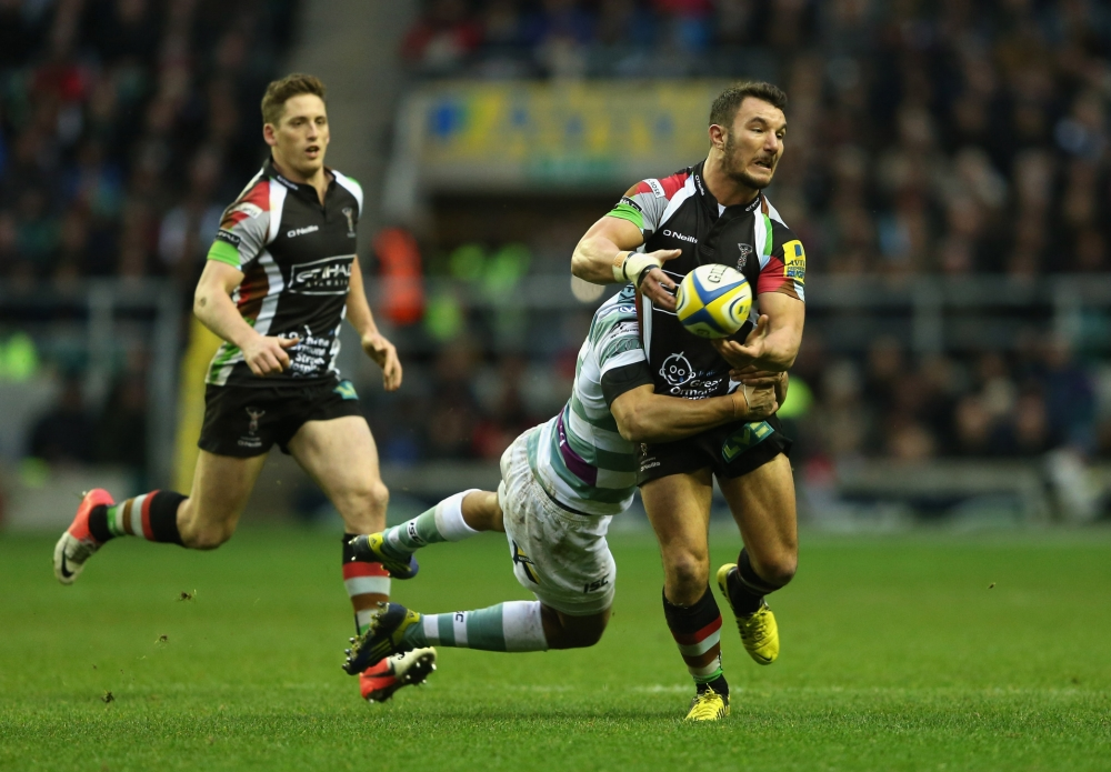 George Lowe determined to capitalise on Harlequins' treble chance