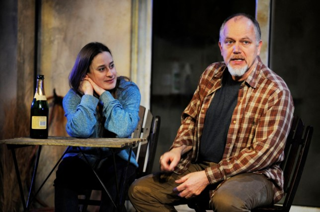 Mariah Gales and Matthew Marsh in David Auburn's Proof at the Menier Chocolate Factory (Picture: Nobby Clark)