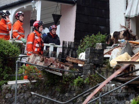 Body found in search for missing Cornwall woman after flood-hit house collapses