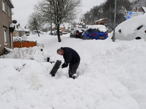 Snow and freezing temperatures to continue as man dies after night out