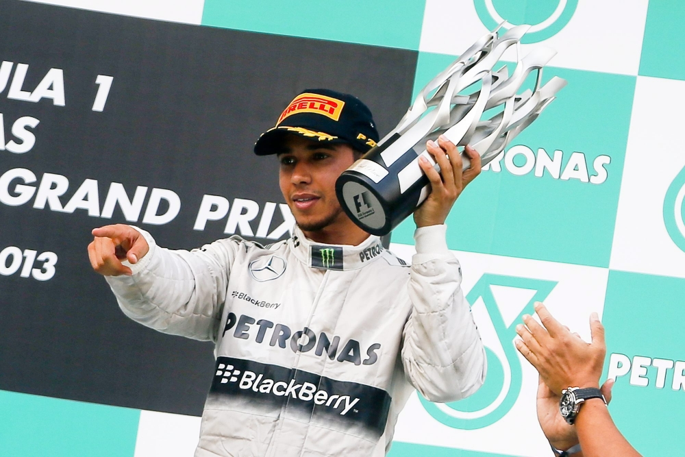 Lewis Hamilton embarrassed to claim third after Mercedes orders deny Nico Rosberg