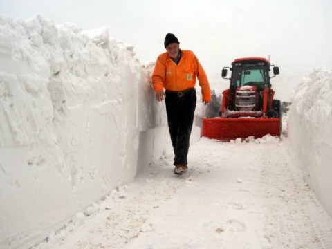 Wintry conditions persist as thousands still without power
