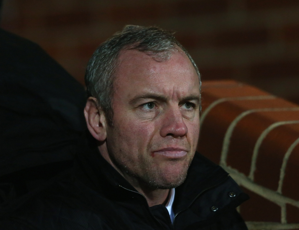 LEEDS, ENGLAND - FEBRUARY 01:  Brian McDermott the coach of Leeds Rhinos looks on during the Stobart Super League match between Leeds Rhinos and Hull FC at Headingley Carnegie Stadium on February 1, 2013 in Leeds, England.  (Photo by Alex Livesey/Getty Images)