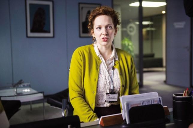 Katherine Parkinson stars in Love Matters (Picture: Chris Lobina/Sky)