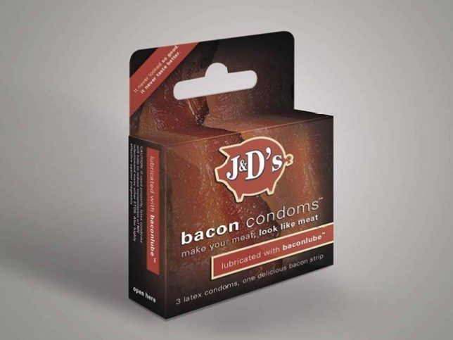 Bacon condoms, J and D's Foods