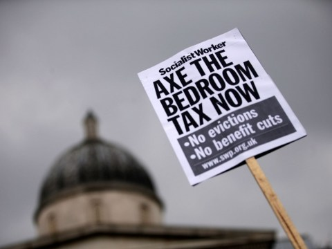 Gallery: Protest against the government's impending 'bedroom tax'