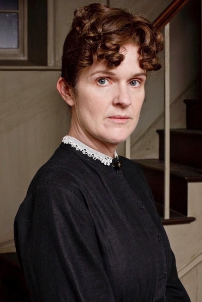Downton Abbey with Siobhan Finneran as Miss. O'Brien