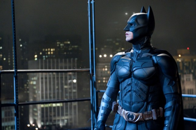 Film: The Dark Knight Rises (2012), Starring Christian Bale as Batman.   CHRISTIAN BALE as Batman in Warner Bros. Pictures  and Legendary Pictures  action thriller  THE DARK KNIGHT RISES,  a Warner Bros. Pictures release. TM &   DC Comics.