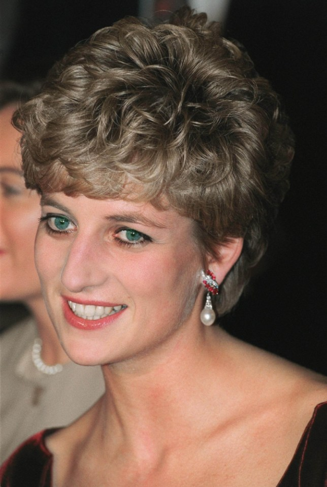 Princess Diana, in drag