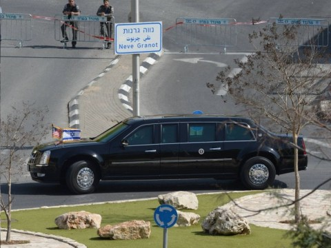 Barack Obama's Beast limo 'breaks down in Israel after fuel blunder'
