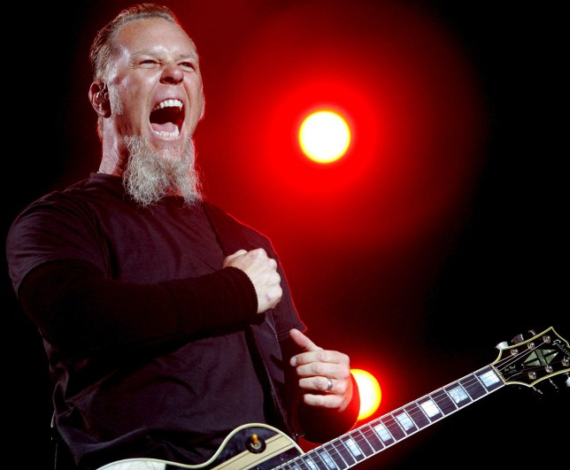 Every James Hetfield 'Yea' ever condensed into one song