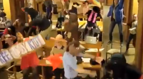 Harlem Shake by Oxford University students leads to librarian being sacked