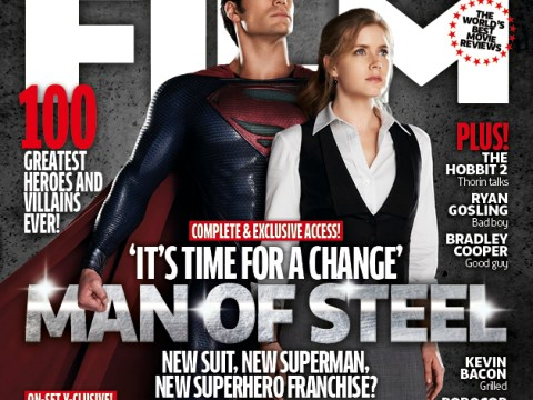 Man of Steel photo shows Superman with Lois Lane