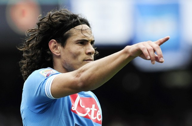 City bound: Edinson Cavani is on his way to the Premier League (Picture: AFP/Getty Images)
