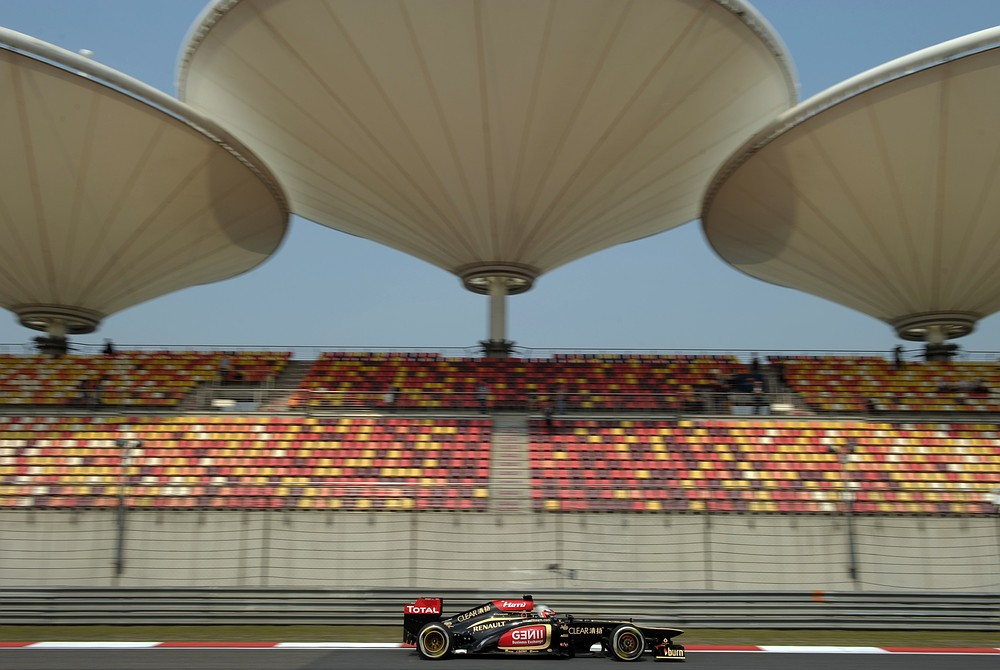 The Shanghai International Circuit has been an F1 track since 2004 (Picture: Getty)