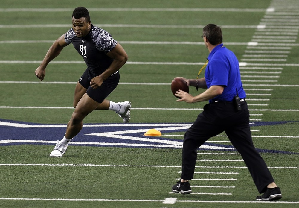 London Olympics discus thrower Lawrence Okoye is snapped up as undrafted free agent by the San Francisco 49ers