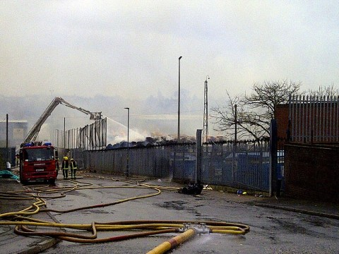 Severe fire at Birmingham paper mill expected to burn for 'couple of days'