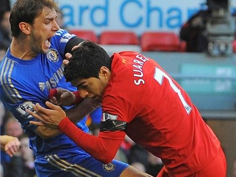 Luis Suarez handed 10-game ban over Branislav Ivanovic bite