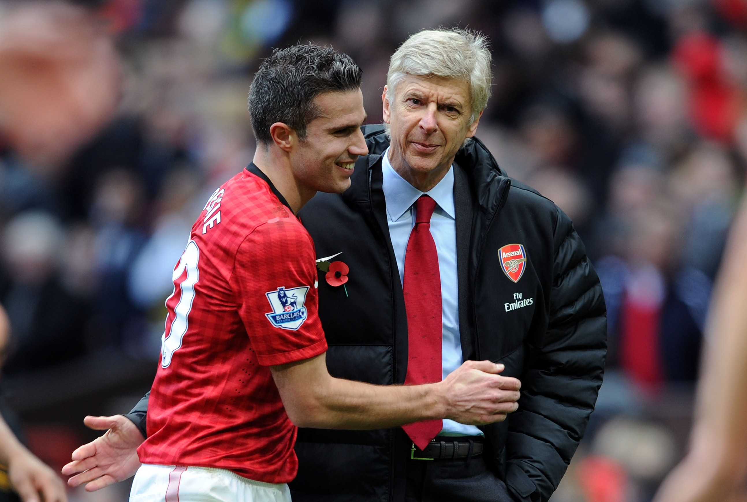 Arsene Wenger: Robin van Persie exit was like a broody woman wanting a baby