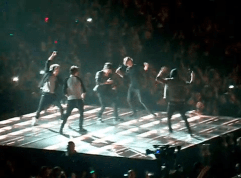 Niall Horan steals the show as One Direction do the Harlem Shake