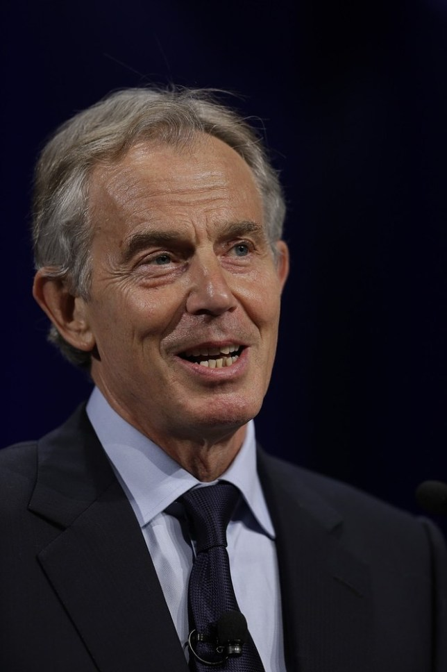 Tony Blair's spokesperson denies rumours of Wendi Deng affair