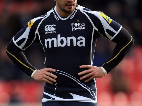 Danny Cipriani jokes on Twitter that he feels like he's 'been hit by a bus'….. (after being hit by a bus)