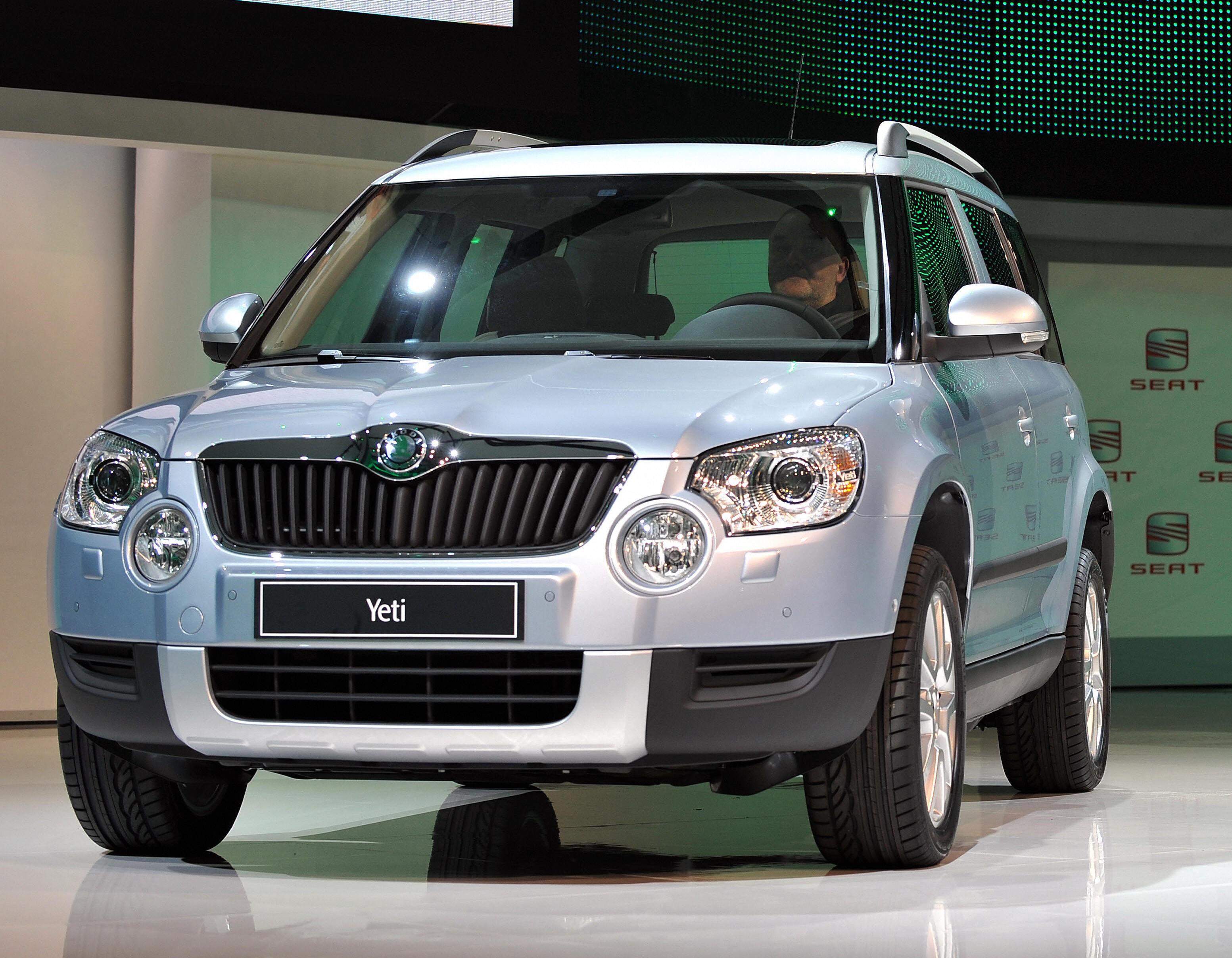 Skoda Yeti voted Britain's favourite car