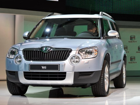 Skoda Yeti voted Britain's favourite car