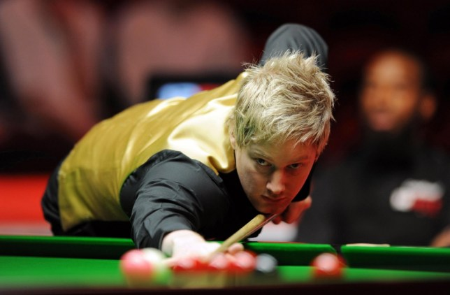 Australia's Neil Robertson during his match against England's Rory McLeod during the 12Bet.Com UK Championships at the Telford International Centre, Telford.    File photo dated 05/12/2010 of  PRESS ASSOCIATION Photo. Issue date: Friday April 8, 2011. The 2011 betfred.com World Snooker Championship will start on April 16th at the Crucible, Sheffield. See PA Story SNOOKER World. Photo credit should read: Andrew Matthews/PA Wire.