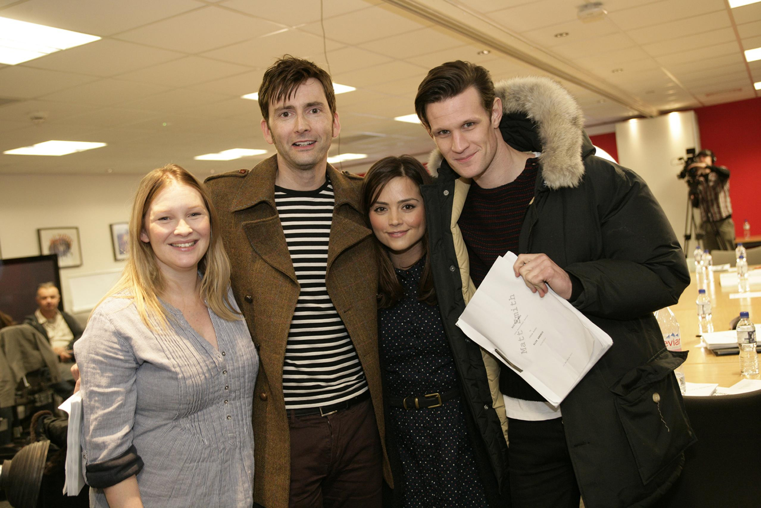 Doctor Who 50th anniversary read through unites Matt Smith and David Tennant